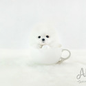 Micro Teacup Pomeranian Puppies For Sale [Marshmallow] - a Pomeranian puppy